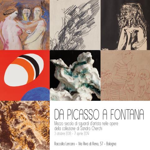 Da Picasso a FontanaMezzo secolo di sguardi d'artista  nelle opere della collezione di Sandro Cherchi
